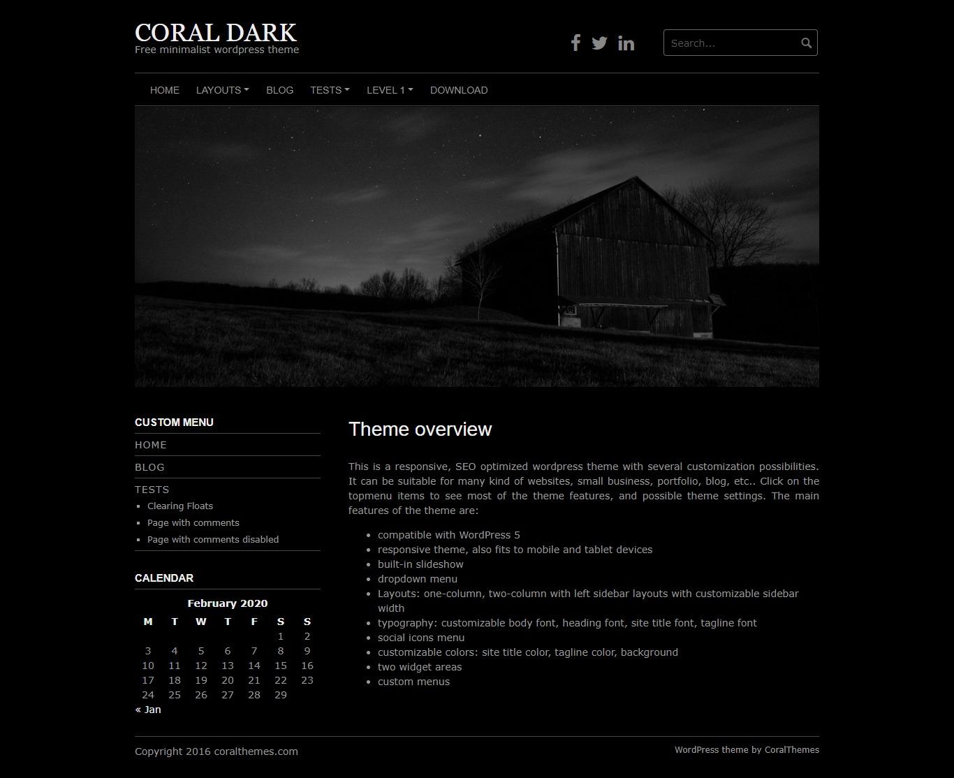 Coral Dark
