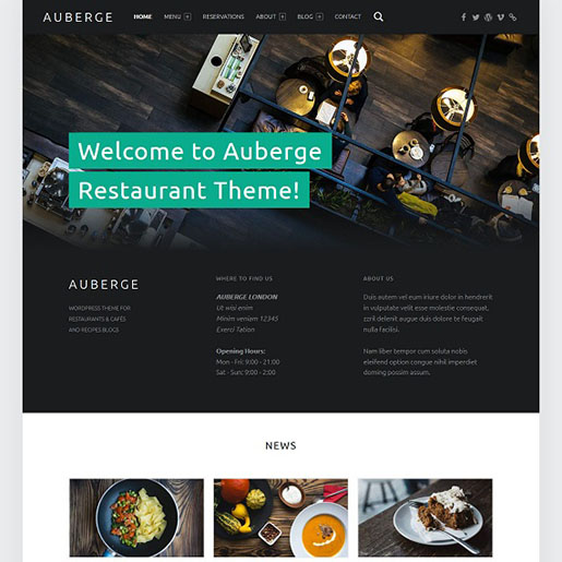 s-wordpress-restuarant-theme