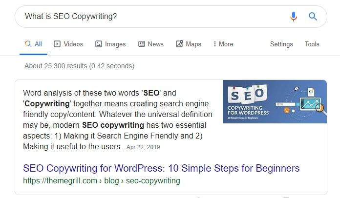 Featured Snippet SEO Techniques 2020