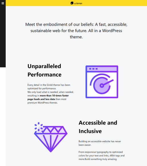 Gridd WordPress Theme - Best Accessibility WordPress Theme