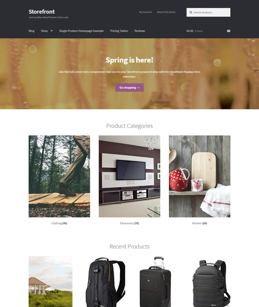 StoreFront WordPress Theme-Best Accessibility WordPress Theme