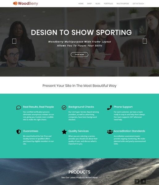 Woodberry WordPress Theme-Best Accessibility WordPress Theme