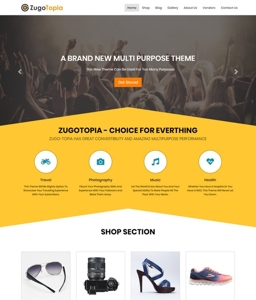 Zugo Topia WordPress Theme-Best Accessibility WordPress Theme