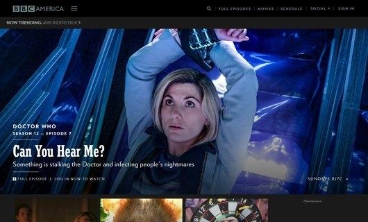 Who use WordPress? BBC America