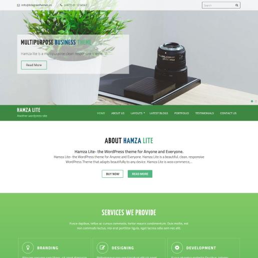 hamza lite free real estate wordpress themes