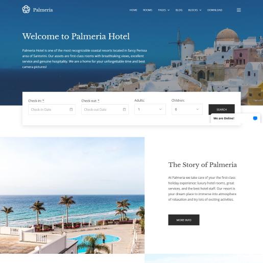palmeria real estate wordpress theme