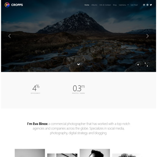 Slider theme - Rife Free