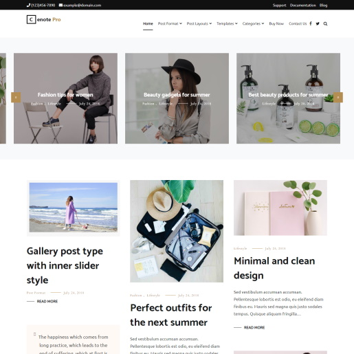 WordPress-Slider-theme-Cenote