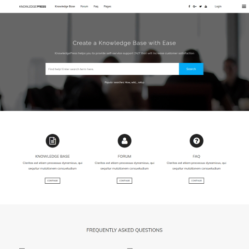 KnowledgePress WordPress Forum Theme