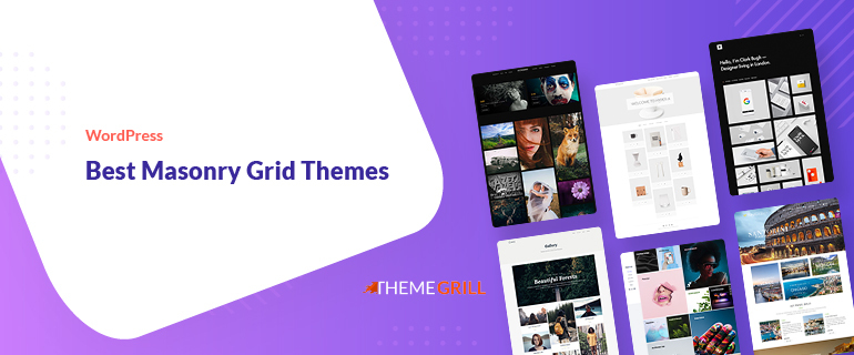 Best WordPress Masonry Grid Themes