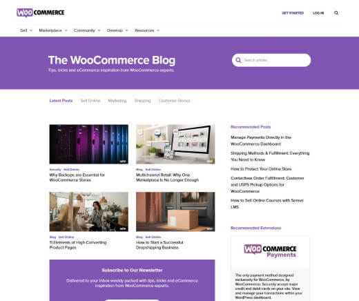 The WooCommerce Blog