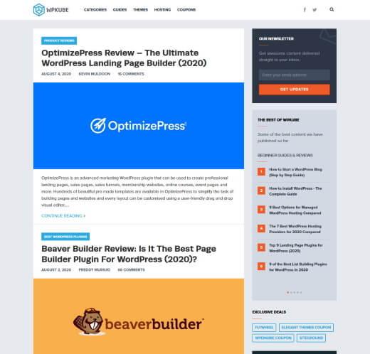 WP Kube WordPress Blog