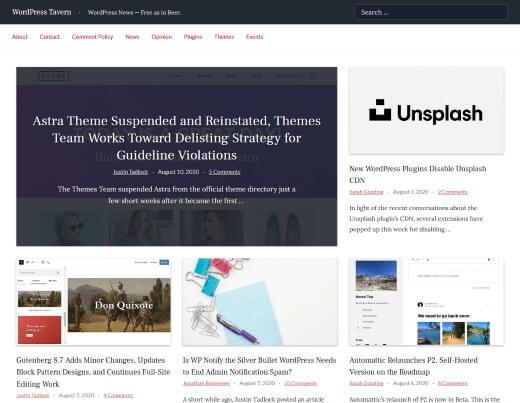 WP Tavern WordPress Blog