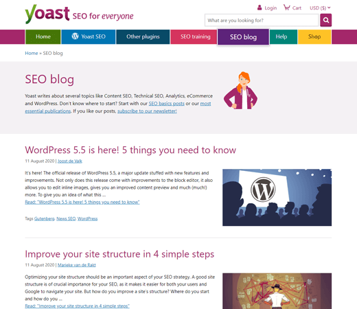 Yoast WordPress SEO Blog