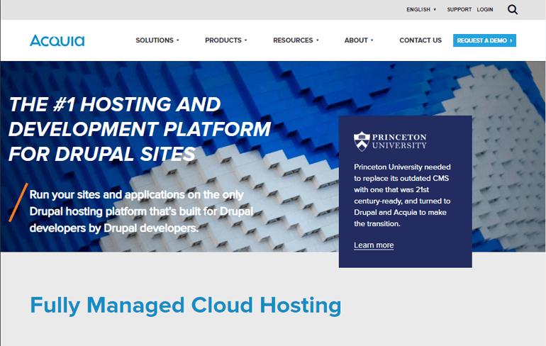 Acquia Web Hosting