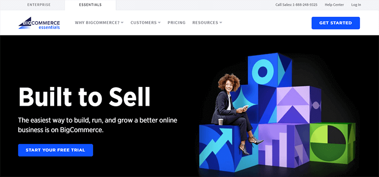 BigCommerce Sign Up Page