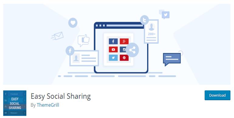 Easy Social Sharing Plugin