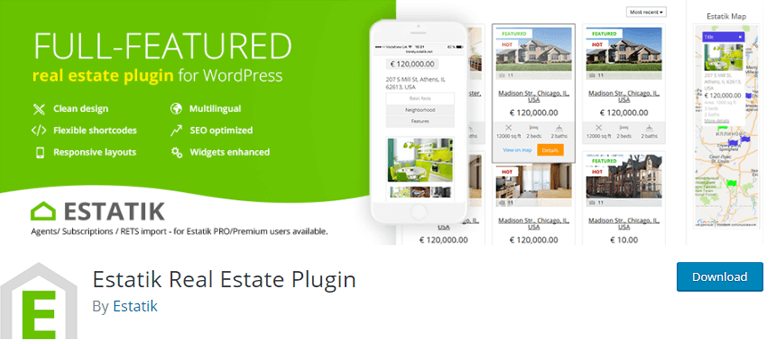 Estatik Real Estate Plugin