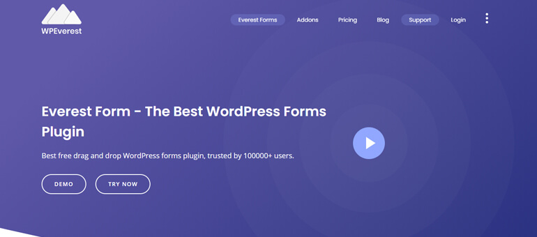 Everest Forms - Best Contact Form Plugin for WordPress