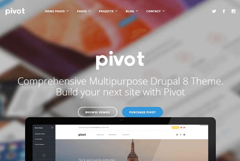Pivot Theme Demo