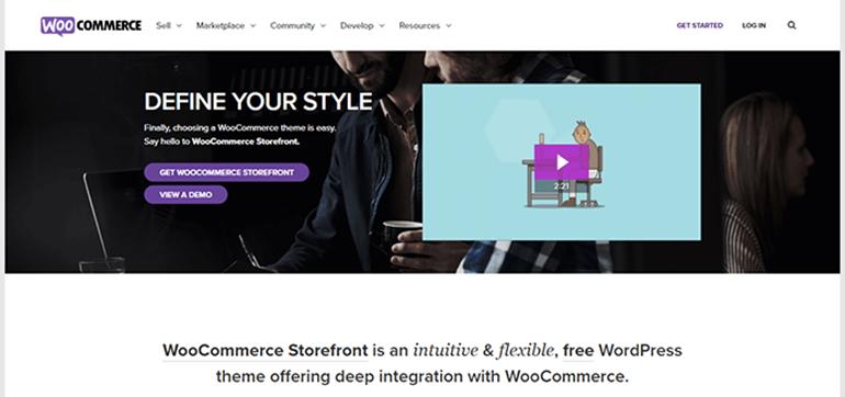 Storefront Theme WooCommerce