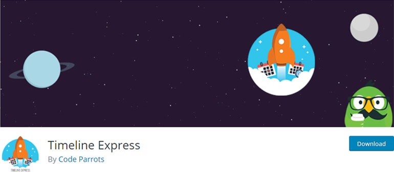 timeline express wordpress timeline plugins