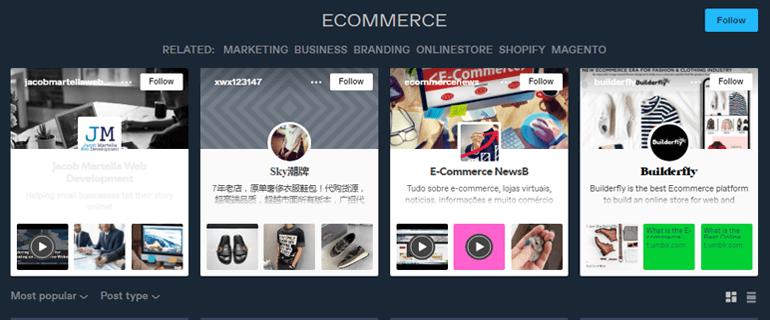 Ecommerce Options on Tumblr