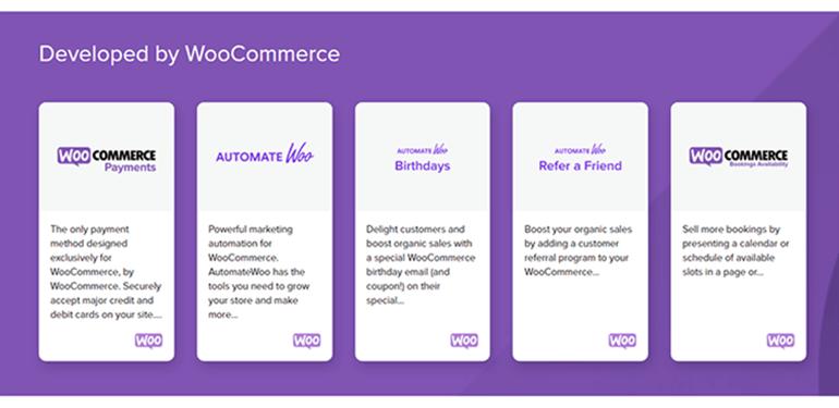 WooCommerce Developed Plugins