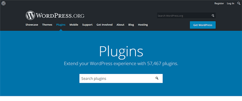 WordPress Plugin Repository Page