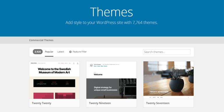 WordPress Themes how to add a theme in wordpress