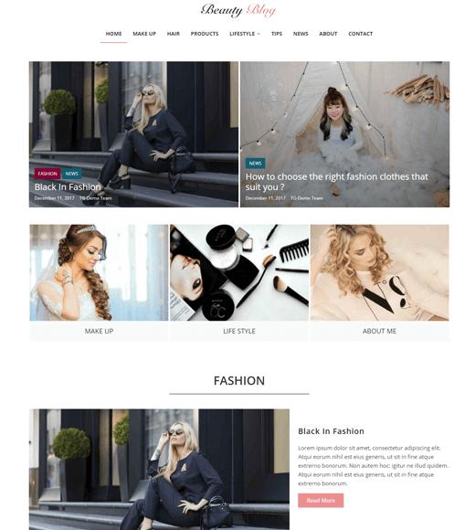 ColorMag Lifestyle Blogs Theme