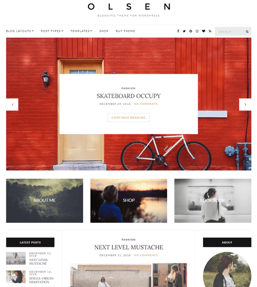Best free WordPress themes for lifestyle blogs