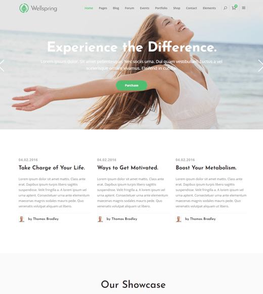 Wellspring WordPress Lifestyle Blog Theme