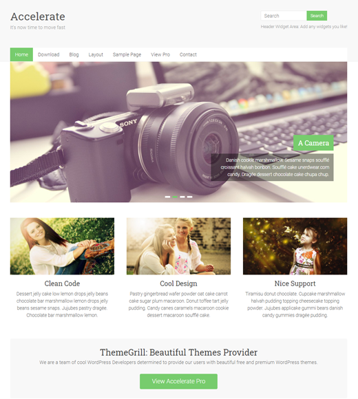 Accelerate Affiliate Marketing Business Theme
