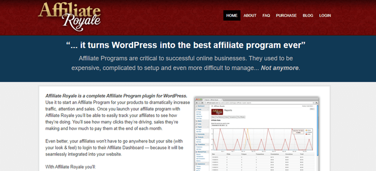 AffiliateRoyal WordPress Affiliate Plugin