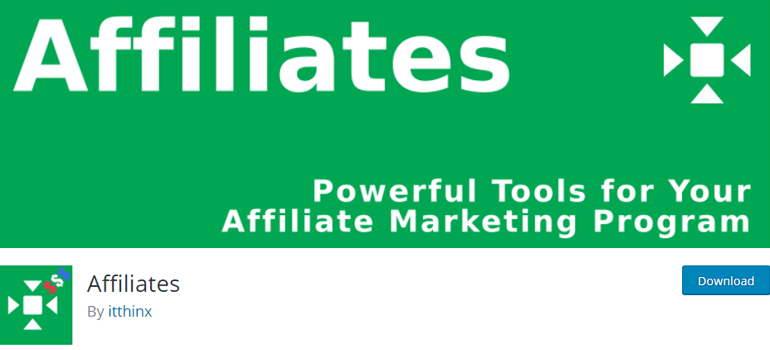 Affiliates WordPress Plugin