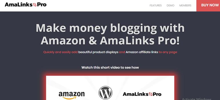 AmalinksPro Amazon Affiliate  Plugin