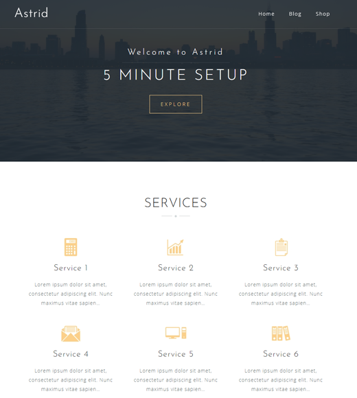 Astrid Affiliate Marketing Business Theme