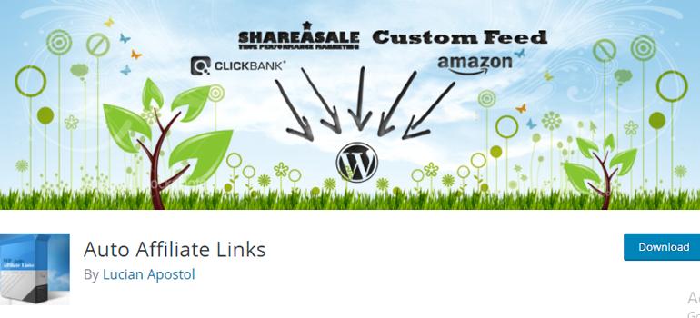 Auto Affiliate Links Affiliate WordPress Plugin