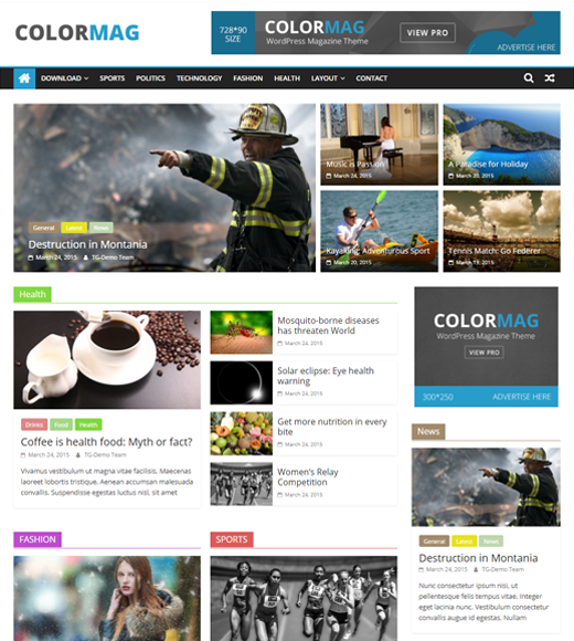 ColorMag  Theme  for Affiliate Marketing