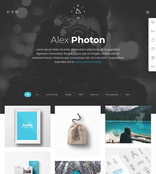 Jevelin  Multipurpose Theme