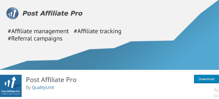 PostAffiliatePro Affiliate Marketing Software