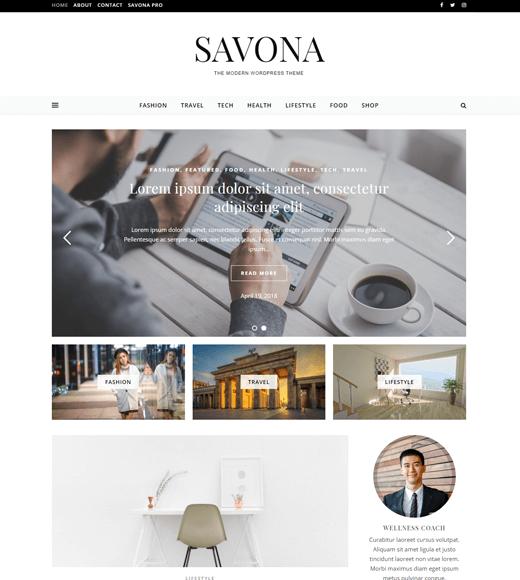 Savona Theme