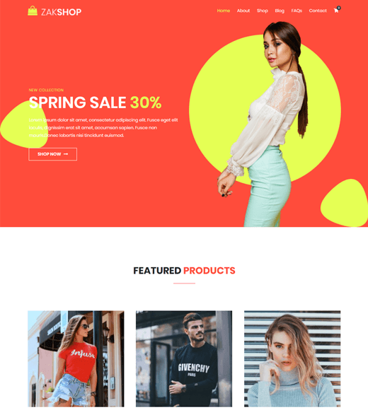 Zakra Affiliate Marketing Multipurpose  Theme