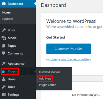 Add New WordPress Plugin