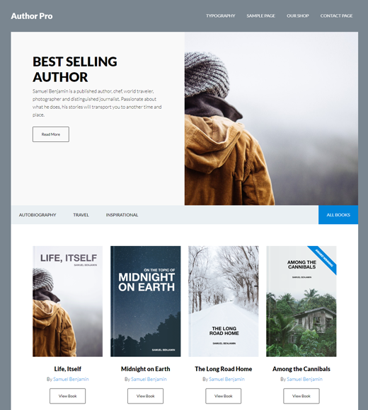 Author Pro Affiliate Marketing Online Library Theme