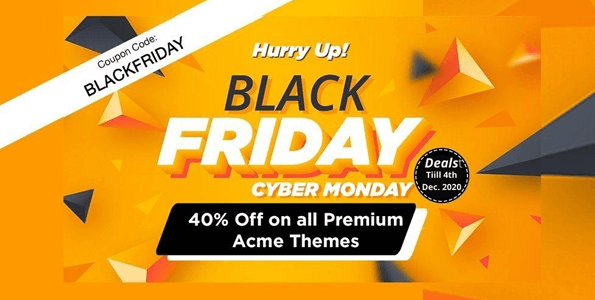 Acme Themes Black Friday Sale
