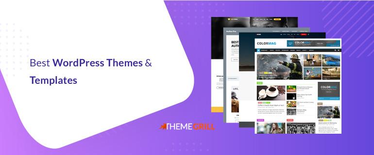 Best WordPress Themes & Templates