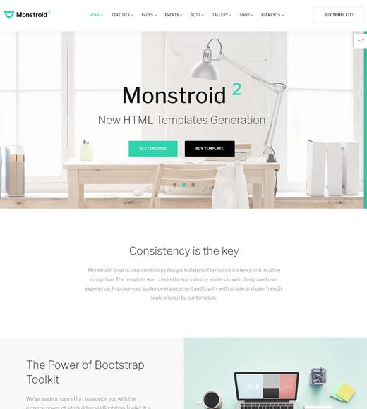 Monstroid2 Theme Demo
