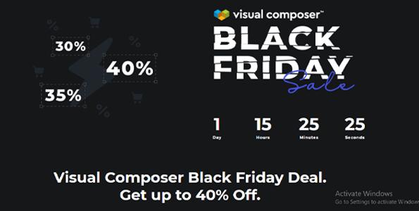 Visual Composer Black Friday